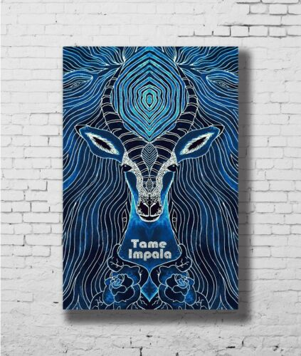 C0059 Tame Impala Psychedelic Star Rock Art Silk Poster 20x30 24x36inch