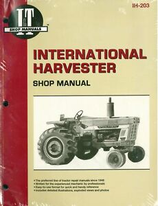 image is loading international-harvester-tractor-service-manual-454-464-484-