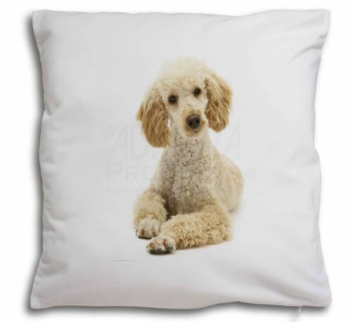 AD-CP7-CPW Apricot Poodle Soft Velvet Feel Cushion Cover With Inner Pillow
