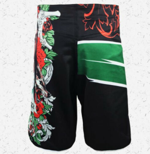 PANTALONES CORTOS SHORTS MMA BOXEO KICK BOXING THAI K-1 ¡DESDE ESPAÑA GRATIS