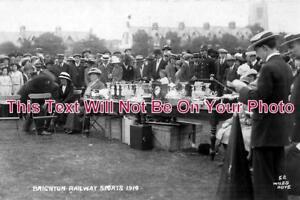 SX-375-Brighton-Railway-Sports-1914-Sussex-6x4-Photo