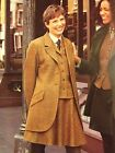 Laura Ashley vintage tweed suit short skirt jacket lined tomboy Oxford 10