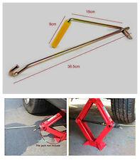 Car Steel Garage Tire Wheel Lug Wrench Scissor Jack Crank Speed Handle Lift Tool