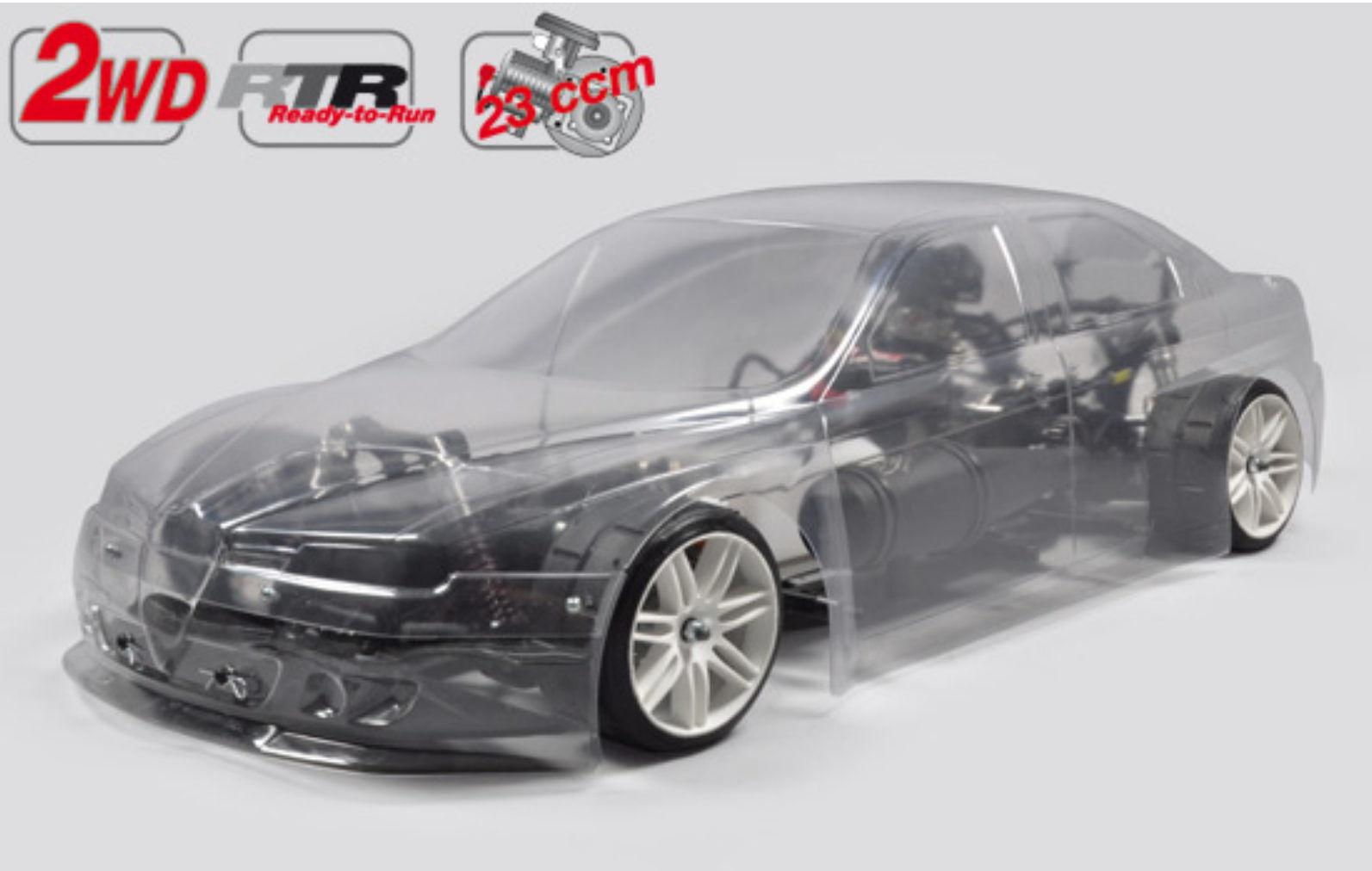 FG modelo Sport r New sportline 2wd chasis ar body 23 ccm sin pintar rtr