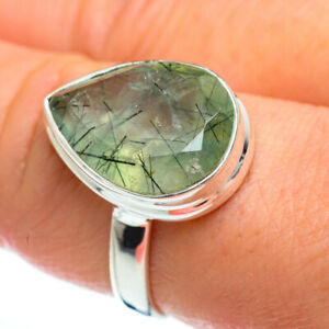 Prehnite-925-Sterling-Silver-Ring-Size-9-Ana-Co-Jewelry-R46894F