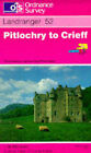 Pitlochry to Crieff by Ordnance Survey (Sheet map, folded, 1989)