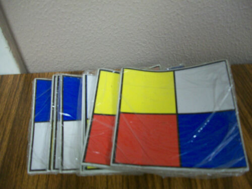 "10//PACK 3 Lot of Hazardous Waste Labels-5/"" X 5/"""