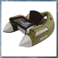 Outcast Fish Cat 4 Deluxe Float Tube, Olive - Low International Shipping Rates