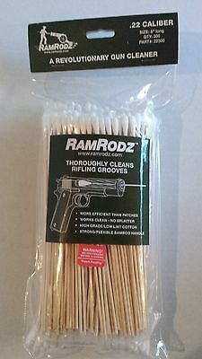"New IPA RamRodz 8"" Disposable Gun Cleaning Rods for .22 Caliber Pistol #22300"