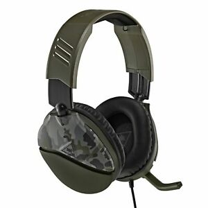 Turtle Beach Recon 70 Gaming Headset for Xbox One, Switch , PS4 Green Camo