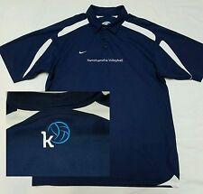 Kamehameha Schools Warriors VOLLEYBALL Nike Golf Polo Shirt Large L - NWOT