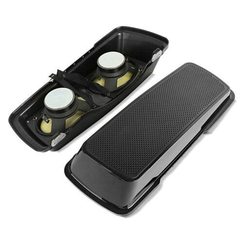 Seitenkoffer-Deckel mit 2x Lautsprecher für Harley Electra Glide Sport 94-95