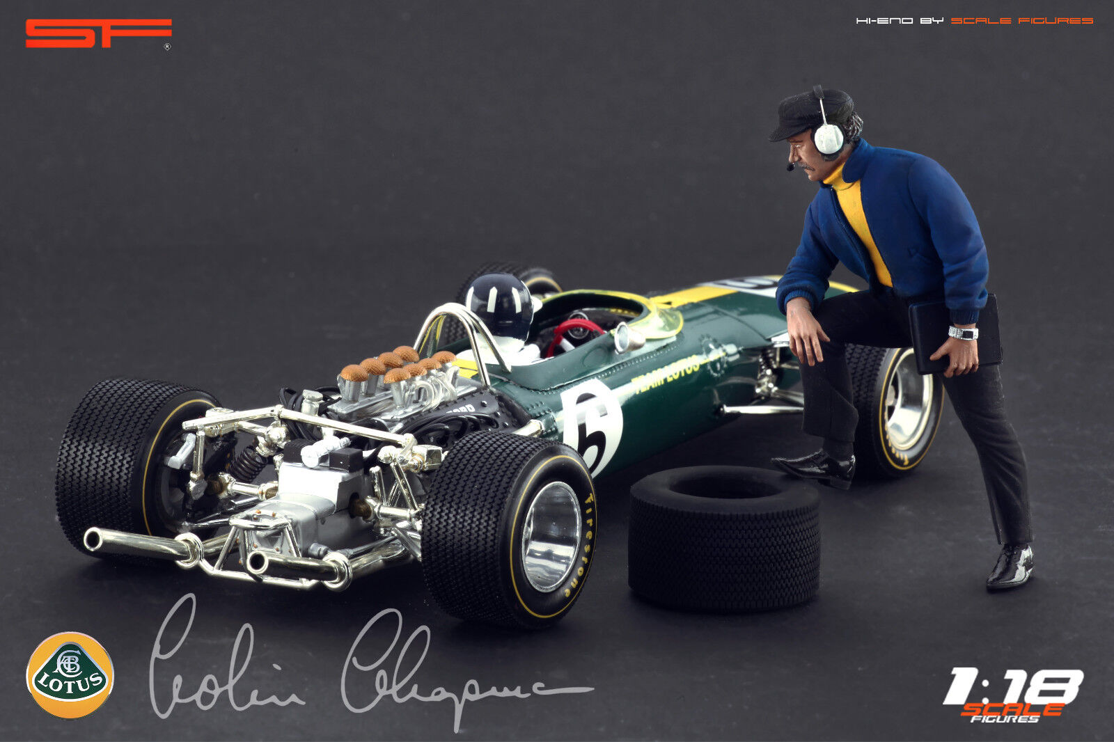 1/18 1/18 1/18 Colin Chapman Muy Raro CMC AutoArt Minichamps cifras para 0dfa33