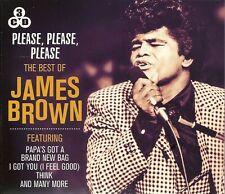 BEST OF JAMES BROWN - Please Please Please - Paps's Got A Brand New Bag 3 x CDs