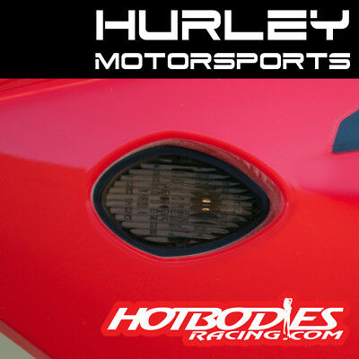 13-15 Honda CBR500R Pair of LED Flush Mount Turn Signals Smoke Lens