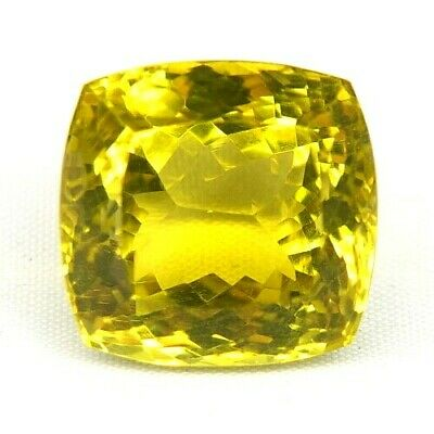 Top Big Lemon Citrine : 33,28 Ct Natürliche Lemon Citrin Aus Madagaskar