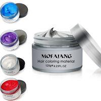 Unisex Diy Hair Wax Clay Hair Model Pomades Mud Hairstyle Long Lasting Wax Cream