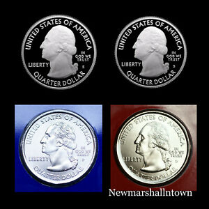 2012 P+D+S+S America the Beautiful National Parks ~ Proof Coins in Coin Flips