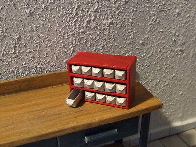 für Werkstatt 6er Tankstelle usw - Modellbau,Maßstab 1:18 Kleinteilemagazin