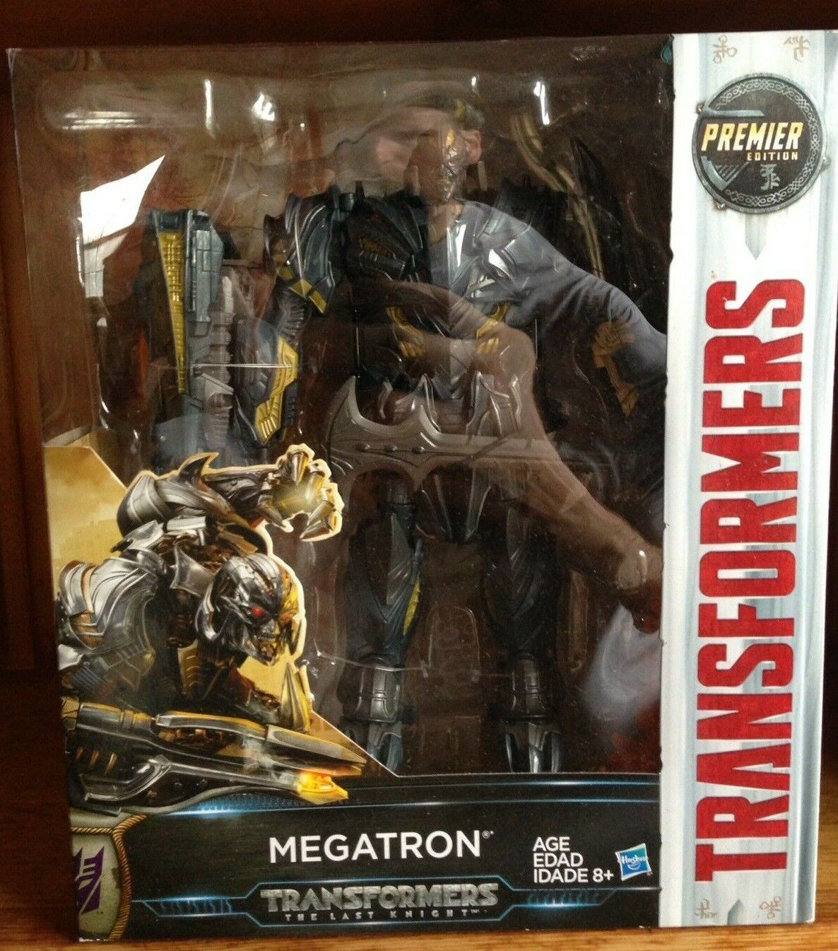 New Transformers The Last Knight TLK Premier Edition Leader Class Megatron MISB