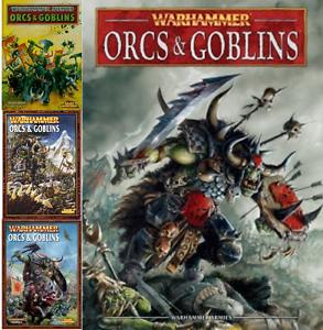 Orcs & Goblins Army Books - Warhammer Fantasy - various select