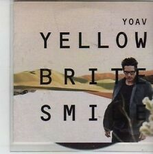 (CG484) Yoav, Yellow Brite Smile - 2011 DJ CD