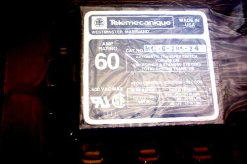 307-2284 TELEMECANIQUE DUAL CONTACTOR 60 AMP 240V NOS