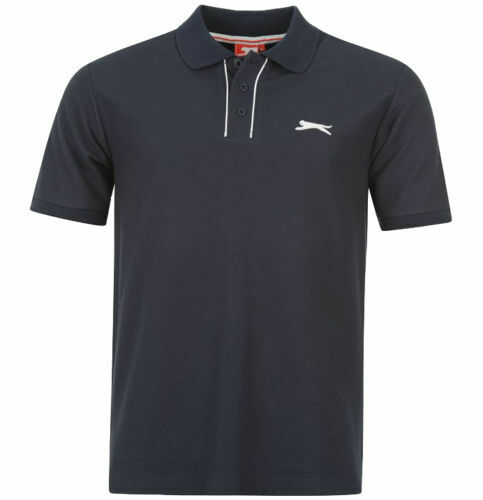 Mens slazenger polo shirt in navy blue size xl xxl and 3xl new with tags