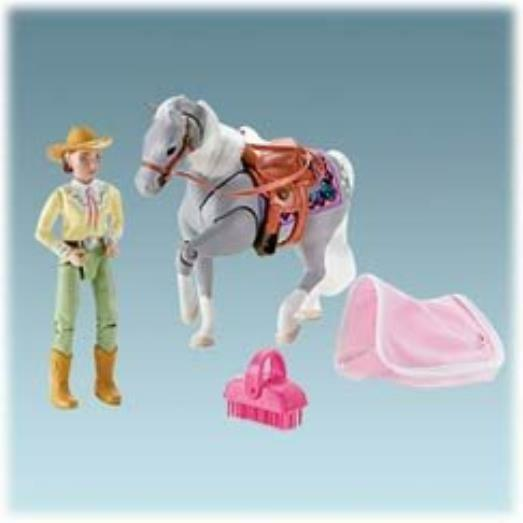 Fisher Price Loving Family Lily grau Western Horse Fisher-Price MYTODDLER New