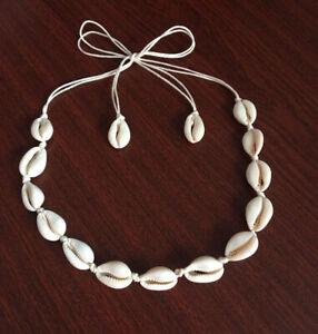 BOHO-Beach-Necklace-Bohemian-Sea-Shell-Pendant-Chain-Choker-Fashion-Jewelry-US