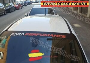 Lateral-Vinilo-Decal-stickers-Parabrisas-Coche-Ford-Performance-130x21cm