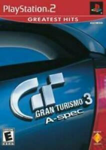 Gran Turismo 3 A-Spec PlayStation 2 Game