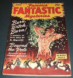 Famous-Fantastic-Mysteries-for-June-1942-Vintage-Pulp-A-Merritt-Ray-Cumming