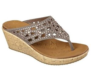 Select SZ//Color. Skechers Cali Womens Beverlee Wedge Sandal