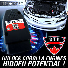 Stage 1 Performance Chip Plug-n-Play Module OBD2 Tune for Toyota Corolla 2013+