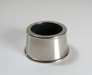Wine-Bottle-Collar-Drip-Stopper-Ring-Chrome-Finish-w-Removable-Felt
