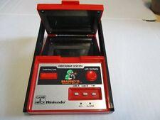 NINTENDO Game & Watch Telespiel Super Mario´s Bombs Away Panorama Screen 1983
