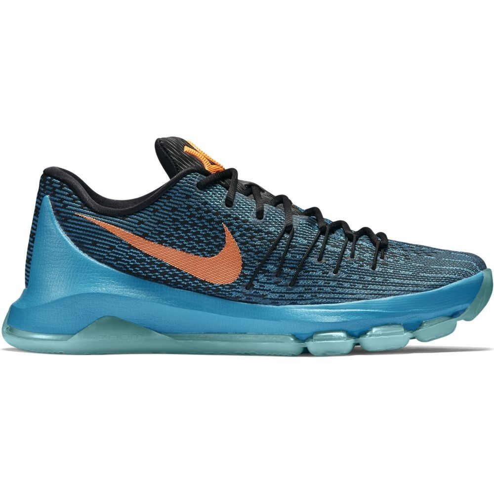 Nike KD 8 bluee Bright Citrus 749375 480 Kevin Durant Basketball Mens Size 14