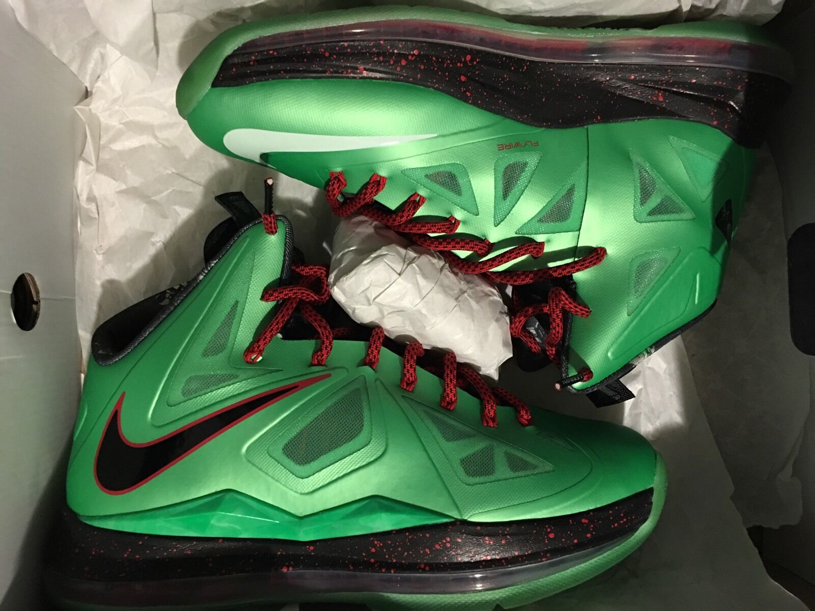Nike Lebron 10 X Cutting Jade Crown Cork Champ What Mvp Wtmvp Usa Nsw Christmas