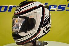 Arai Vector-2 Stripe Sport Bike Motorcycle Helmet XS Open Box 817650