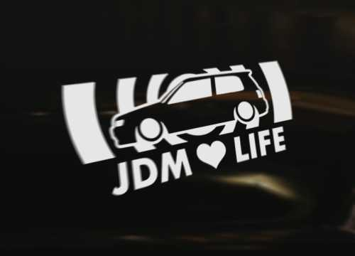 Nissan Sunny N14 Pulsar Gti X1r Jdm Life Decal Sticker Graphic Ebay