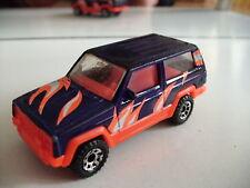 Matchbox Jeep Cherokee in Purple