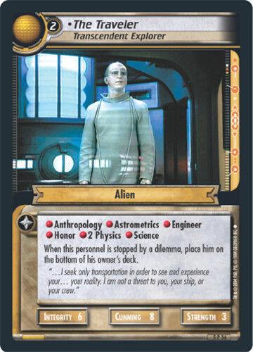 Fractured Tim Star Trek 2E: The Traveler Transcendent Explorer Lightly Played