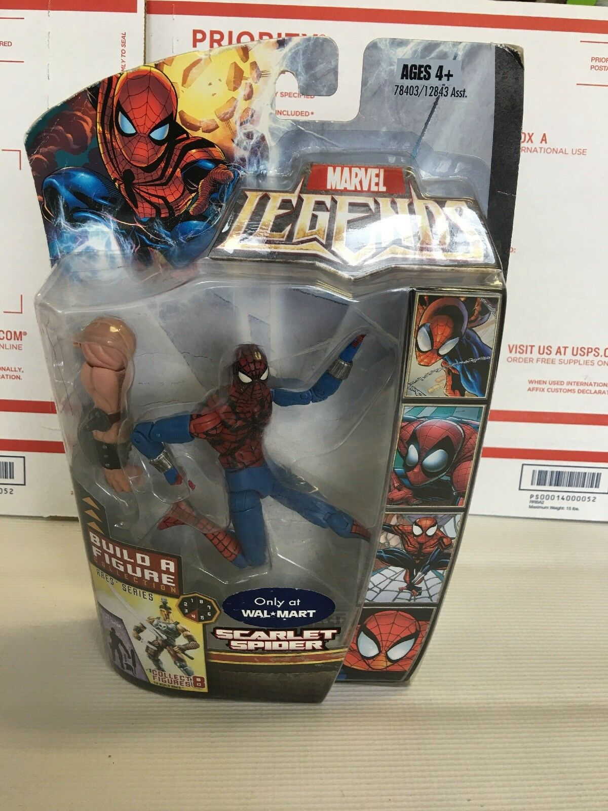 Marvel Legends Scarlet Spider 6  Figure (2008 Ares Baf Series)