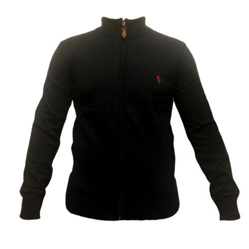 giacca maglia lampo cerniera stand pullover cerniera uomo Polo collare con R5FEw