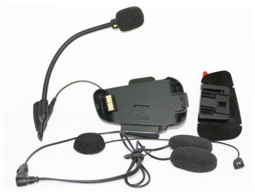Cardo Audio und Microfonkit Packtalk Smartpack Schwanenhalsmikrofon Kopfhörer