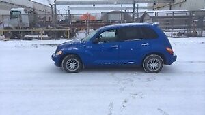 2005 Chrysler PT Cruiser V4cyl 2,4L Good winters tires!
