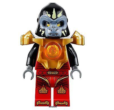 Genuine LEGO Legends of Chima LOC Fire Gorilla Minifigure *NEW* 70143 Gorzan