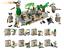 Bausteine-Figur-Militaer-Soldat-Festungsturm-Basis-Waffen-Kinder-Spielzeug-Kind Indexbild 1