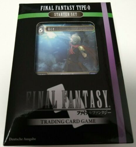 neu /& OVP deutsch Type-0 Starter Set Final Fantasy TCG